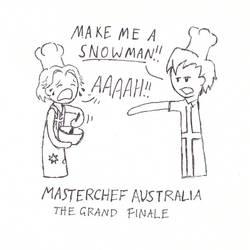 Masterchef Australia by dragongirlhellfire