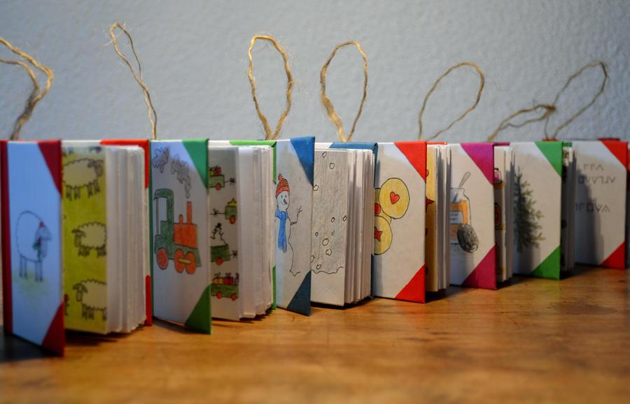 Mini Book Christmas Ornaments by dragongirlhellfire on DeviantArt