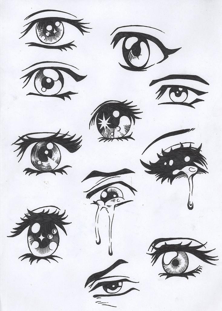 Girl anime eyes by Gracey88 on DeviantArt