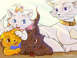 The Aristocats by Vermeilbird