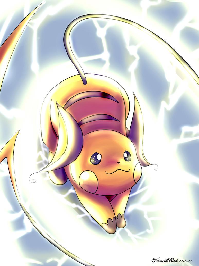 Lightning Raichu by Vermeilbird
