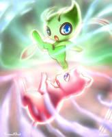 Battle of psychic pokemon by Vermeilbird