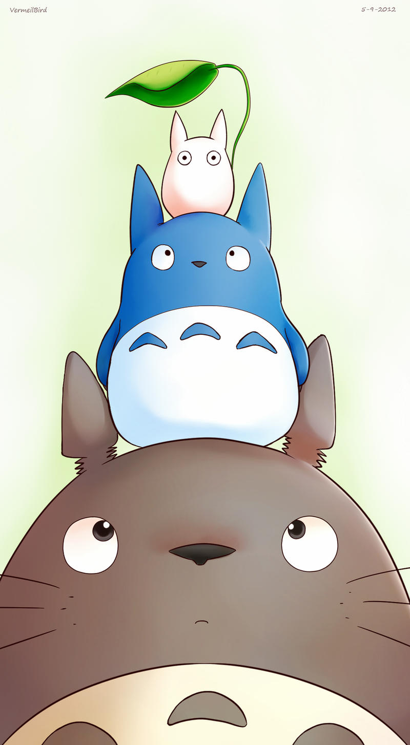 Totoro by Vermeilbird