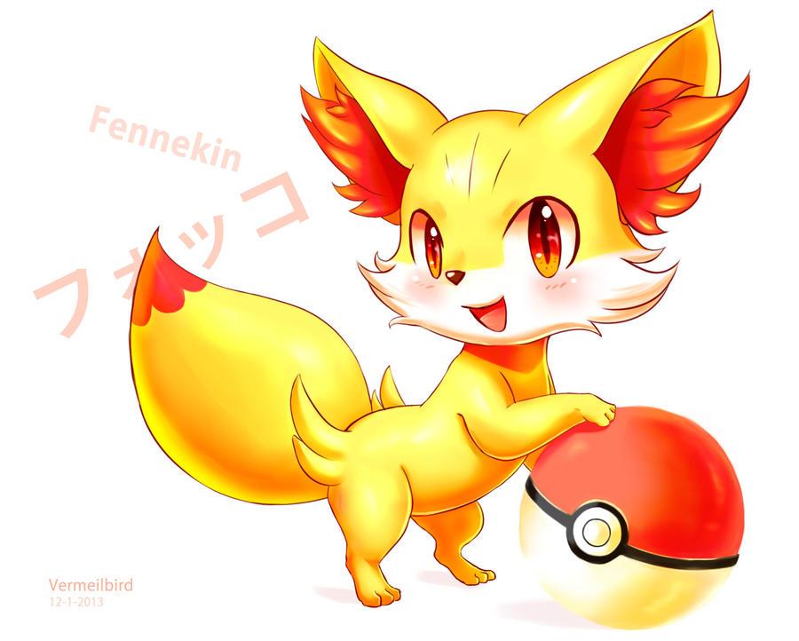 Fennekin by Vermeilbird