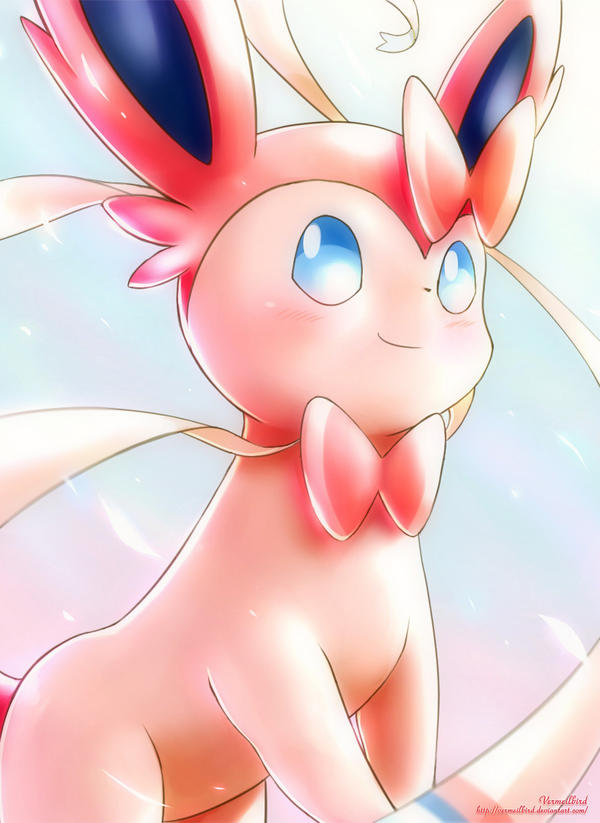 Sylveon by Vermeilbird