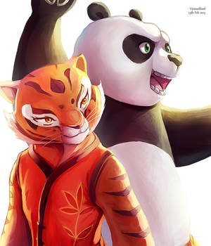 Tigress and PO