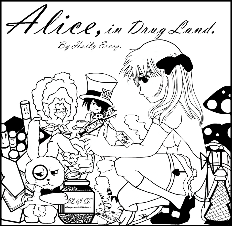 Alice in Drug Land by FunkyFlea