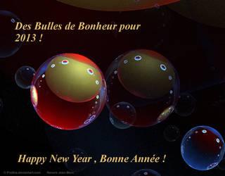 Happy New Year 2013 by Prelkia