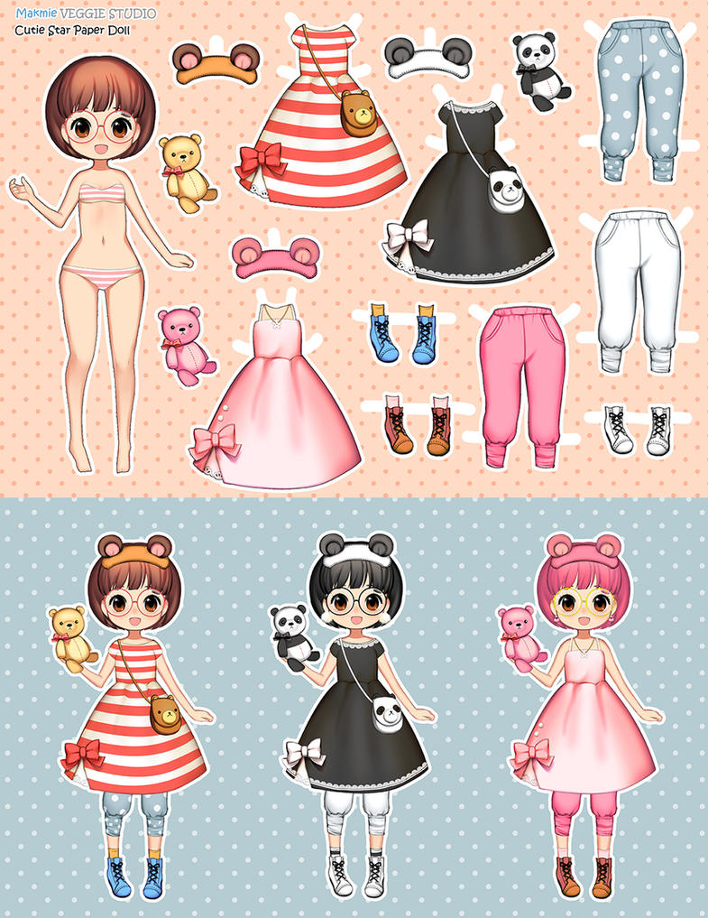 paper doll by VeggieStudio