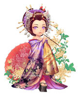 Oiran by VeggieStudio