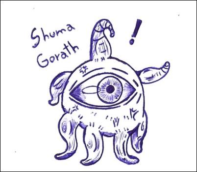 Chibi Shuma Gorath by WAAAAAAH