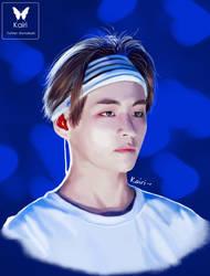 Tae's Forehead by smolkairi