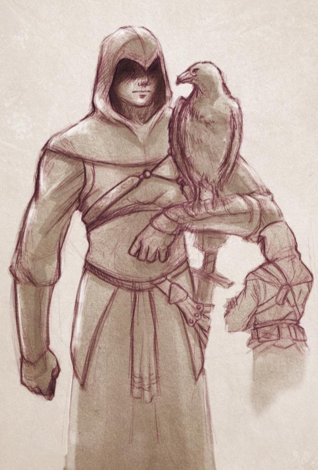 Altair Assassin S Creed Sketch By Melusineistross On Deviantart