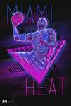 Miami Heat Lebron James Poster
