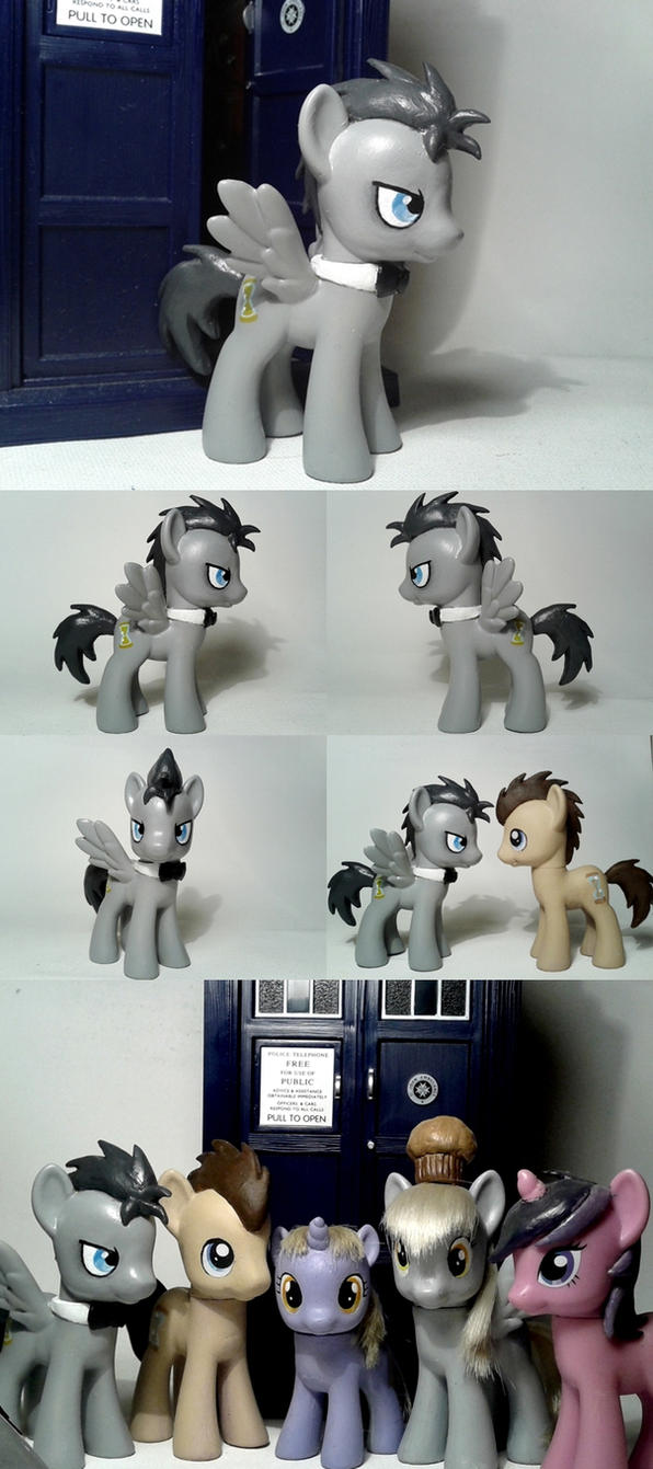 Discord Whooves G4 Custom Pony by Oak23