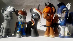 Fallout Equestria Custom Group Photo