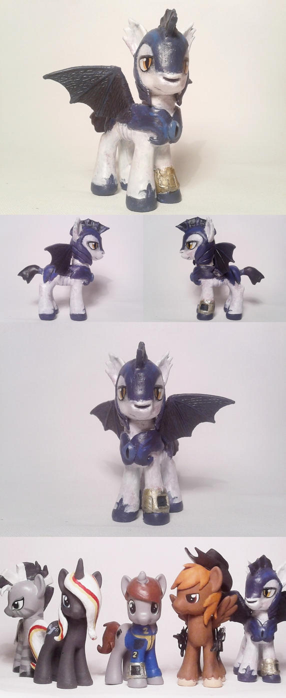 F:OE Lionheart Custom G4 pony by Oak23