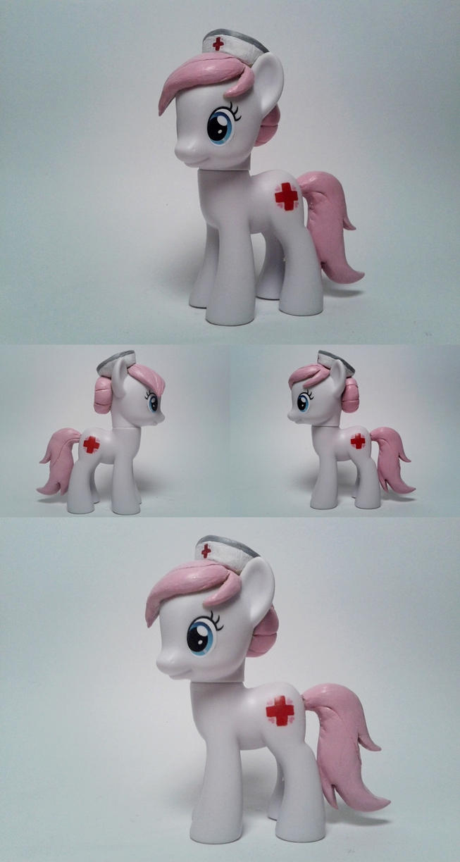 Nurse Redheart G4 Custom Pony by Oak23