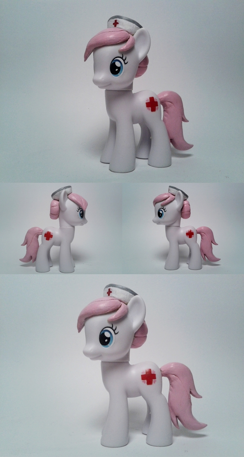 Nurse Redheart G4 Custom Pony by Oak23
