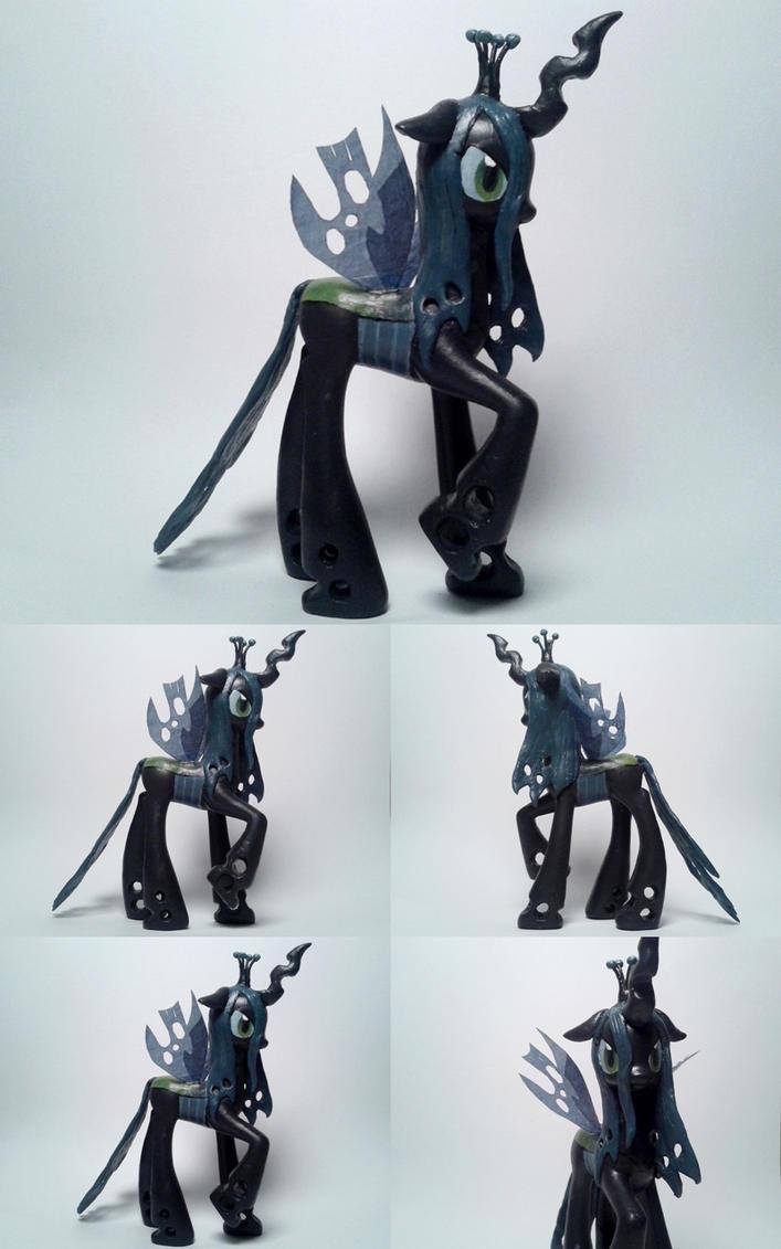 Chrysalis Changeling Queen G4 custom Pony by Oak23