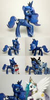 Season 2 Princess Luna G4 Custom Pony
