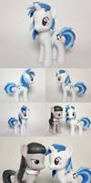 Vinyl Scratch DJ PON-3 Custom G4 Pony by Oak23