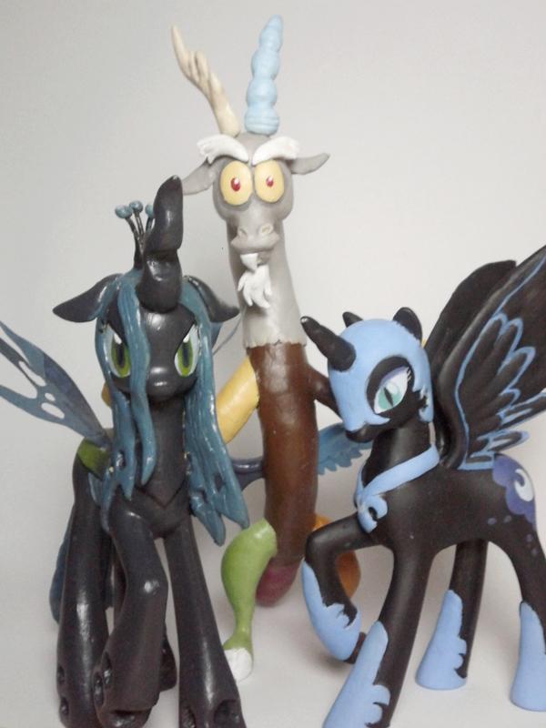 My Little Pony Big Bad Villains by Oak23
