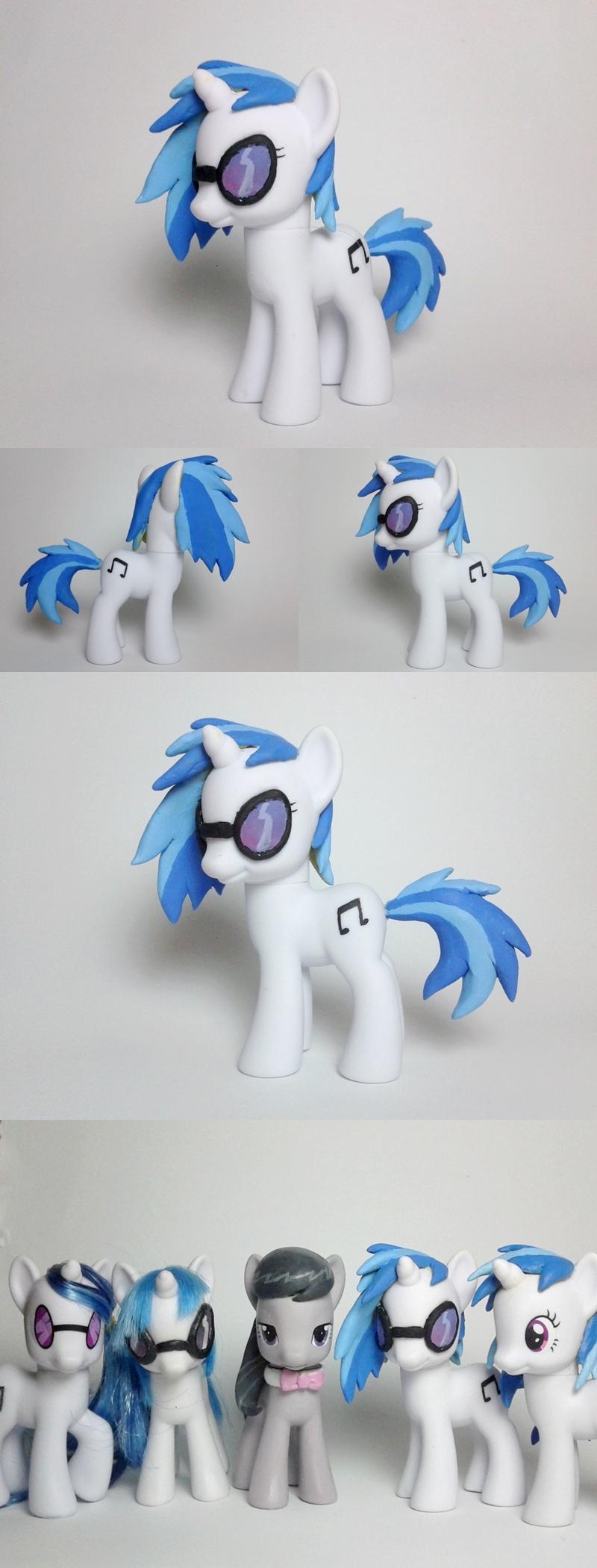 Vinyl Scratch DJ PON-3 G4 Custom Pony by Oak23
