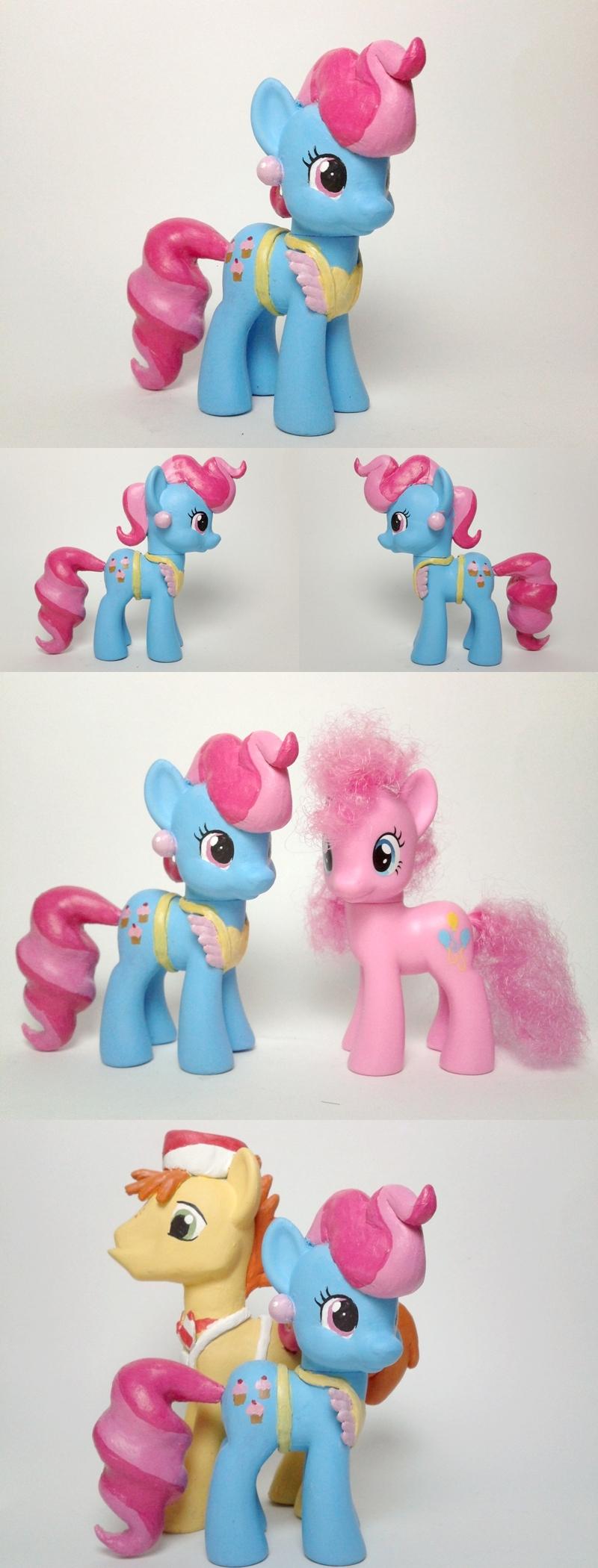Mrs Cup Cake G4 Custom Pony by Oak23