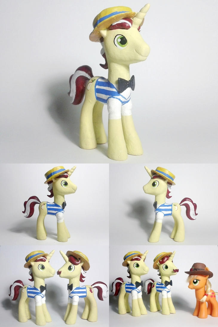 Flim Flim and Flam Brothers G4 Custom Pony by Oak23