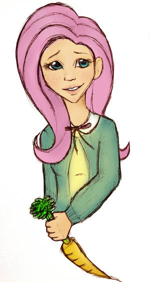 Humanised Fluttershy