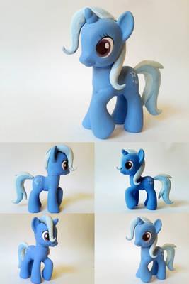 Trixie Lulamoon G4 Custom Pony