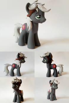 Silver Dare OC G4 Custom Pony