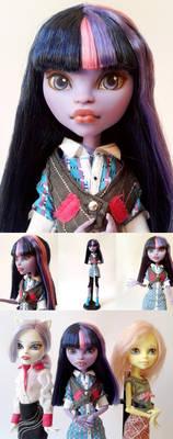 Twilight Sparkle Custom Monster High Doll
