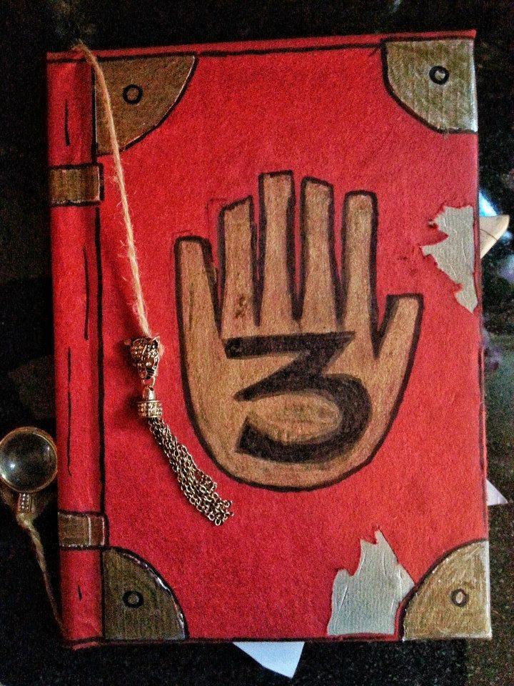 My gravity falls journal 3 cover by bubnbojo on deviantart for Koch 6 backjournal