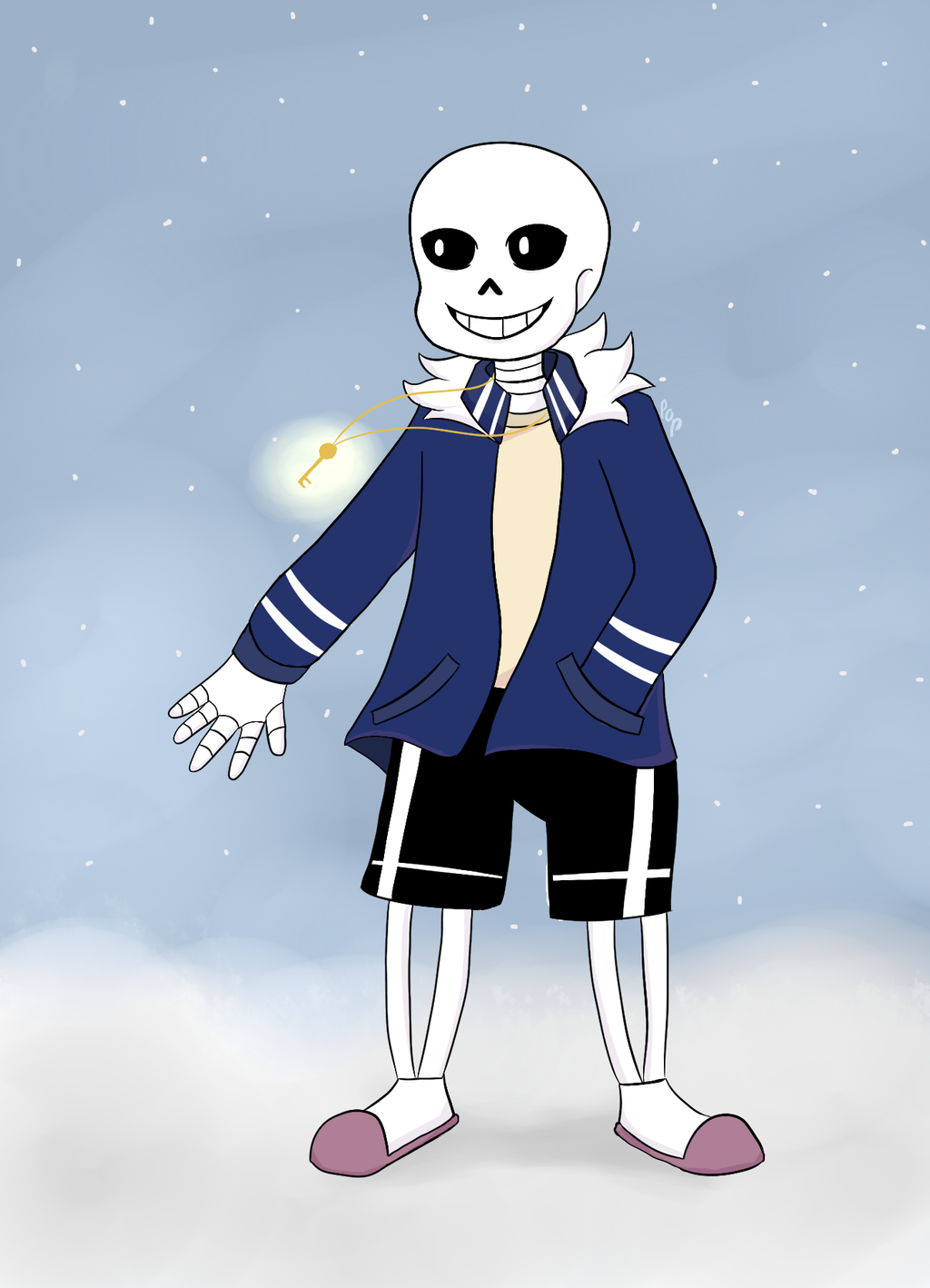 Curetale!Sans by lollipopines