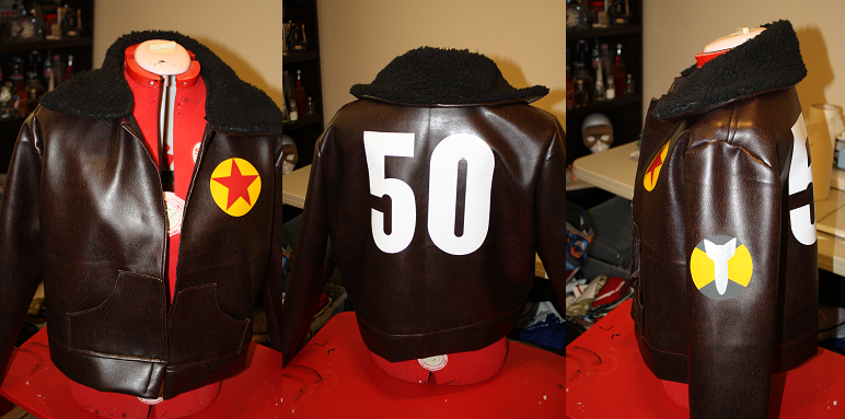 Commission: 2P America Jacket by Cosplay-Closet