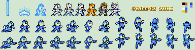 MegaMan X Classic Style Colour limited by Bloo42