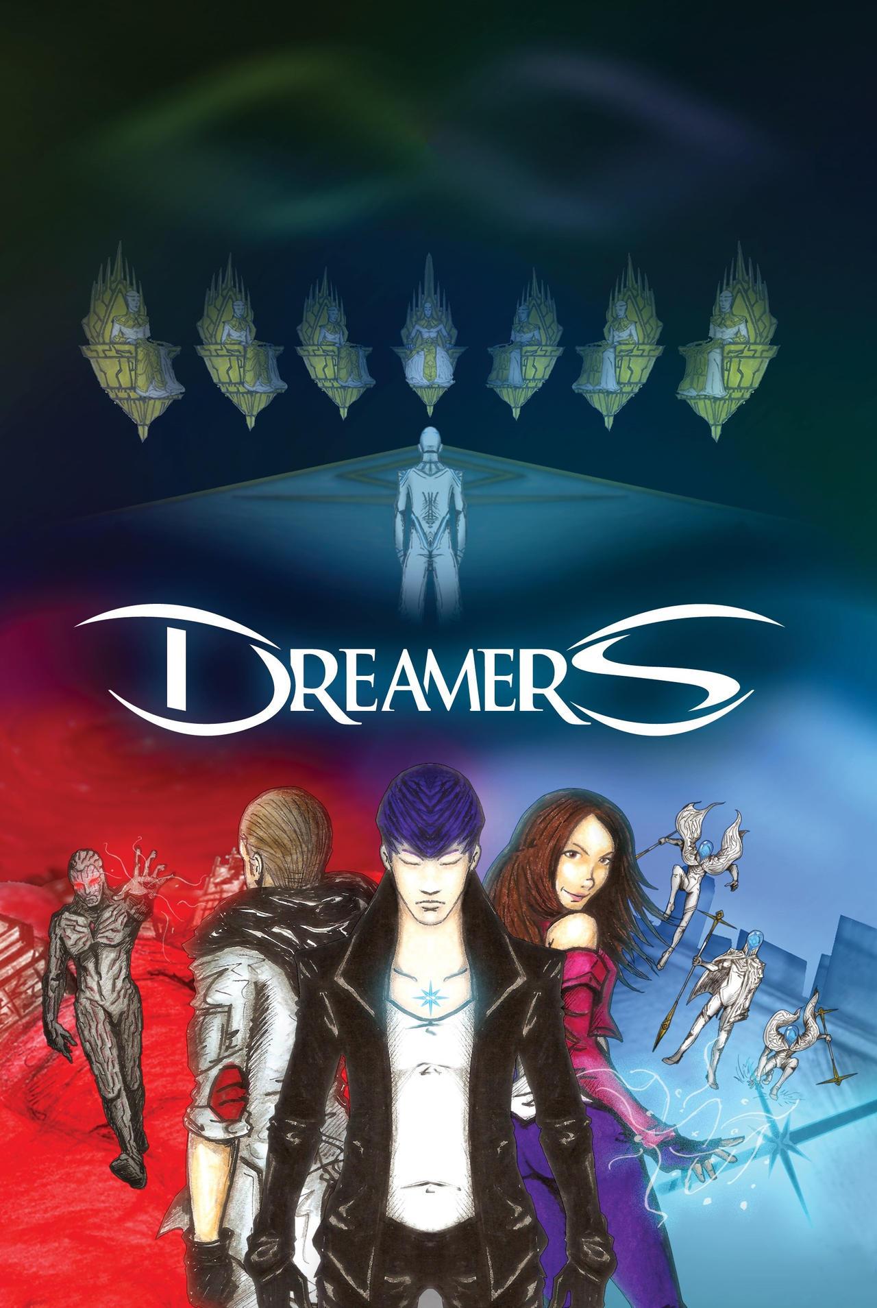 DREAMERS (Graphic Novel) cover art (2021)