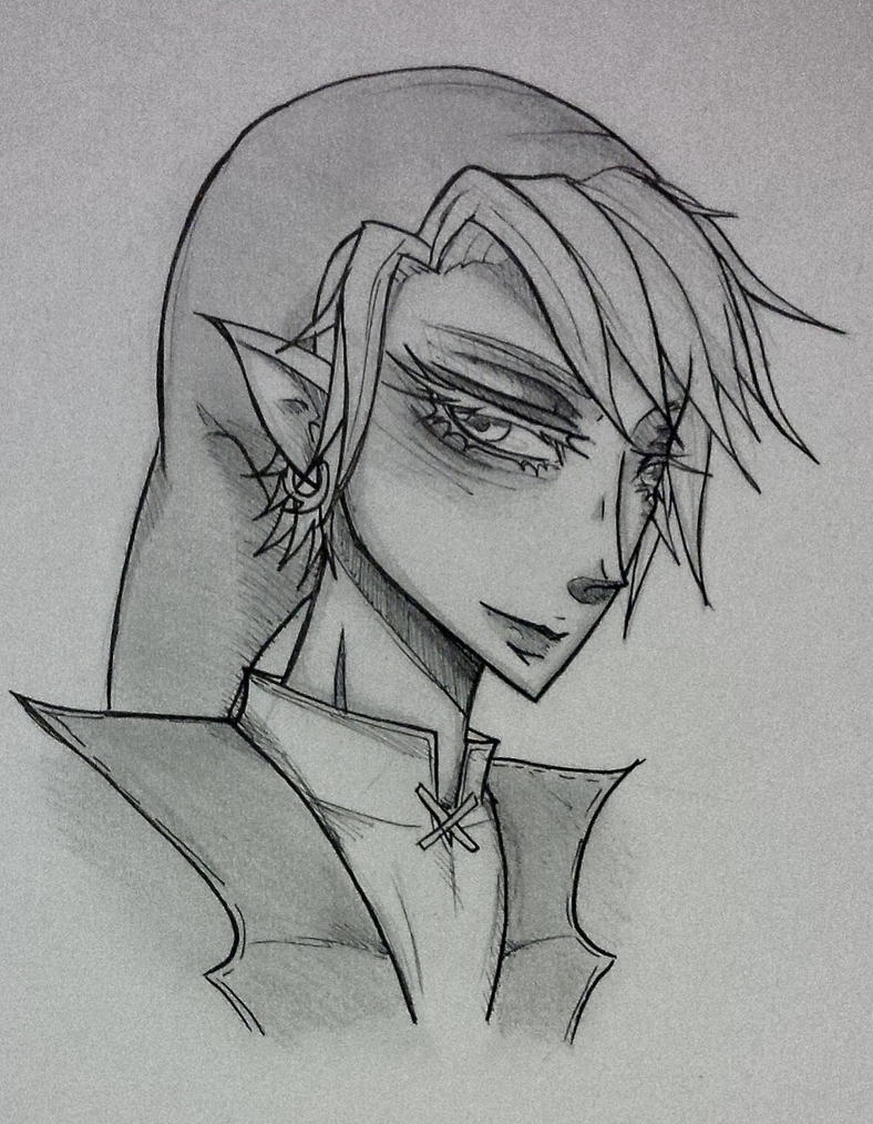 Link sketch by RushBreaker
