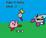 Kirby likes candy by SonicLover1523