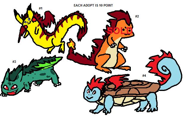 Pokemon Adoptable batch: Longmon #1 (open) by SonicLover1523