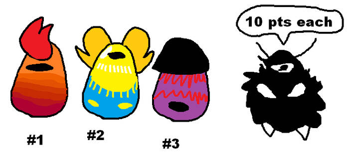 Adoptable Batch: Mystery Eggs #2 (Open) by SonicLover1523