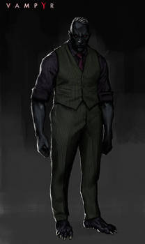 Vampyr Concept art _BOSS _FERGAL