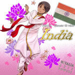 hetalia character cd vol.46 india
