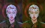 Colored Portrait Practice