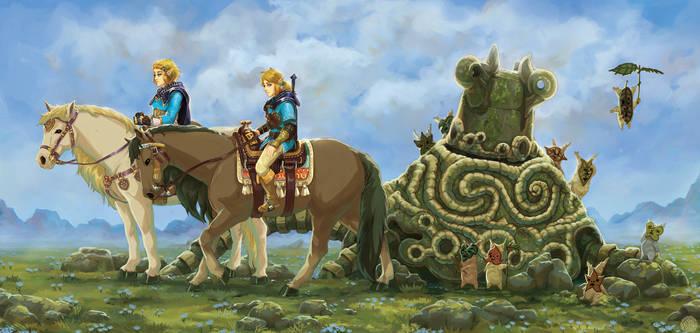 Zelda And Link Journey
