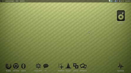 Ubuntu Gnome Netbook Desktop by D-e-s-i-g-n