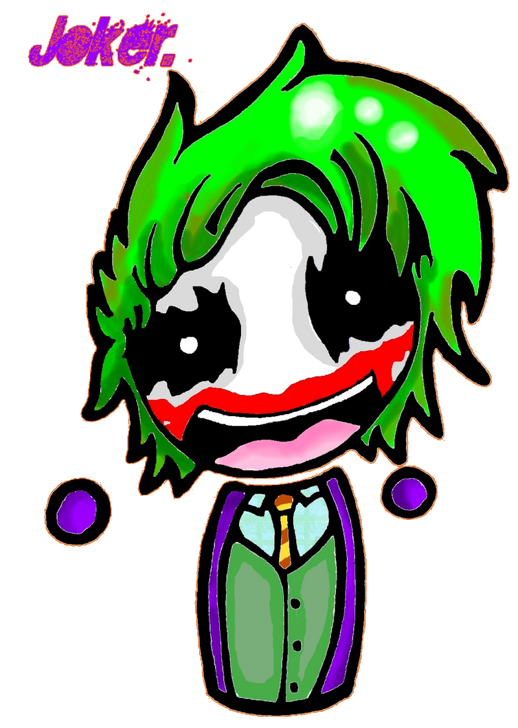 Joker Chibi :3 by lucifeepansy on DeviantArt