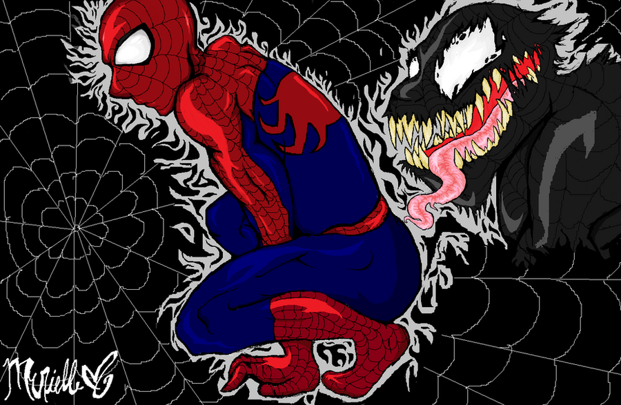 Turns out? venom spiderman face licking porn authoritative